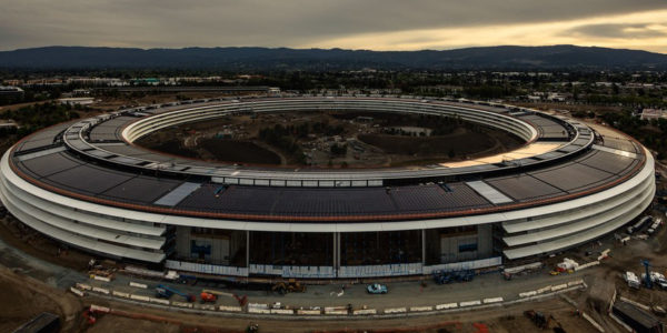 Apple's New Campus- another perspective